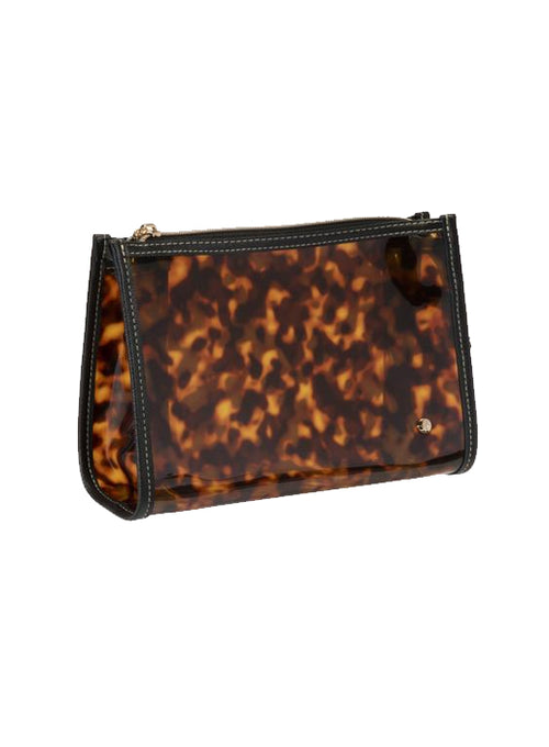 Medium Zip Cosmetic Bag - Tortoise
