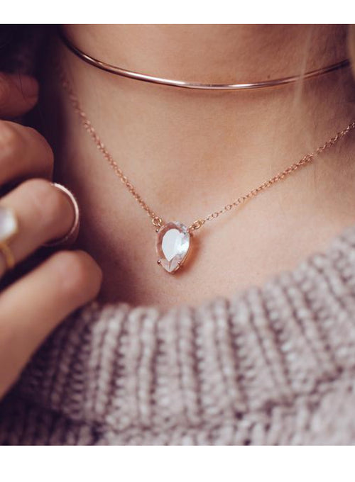 Asana Necklace - Moonstone