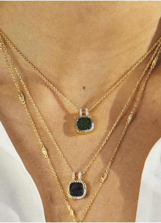 Kaia Necklace - Aventurine