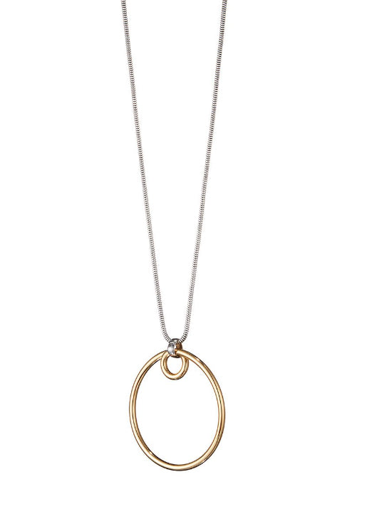 The Loop Pendant Necklace