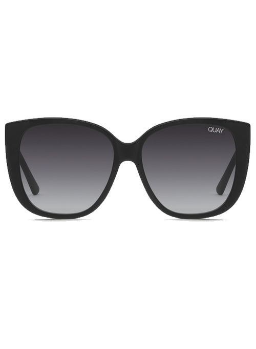x Chrissy Ever After Glasses - Matte Black /Smoke