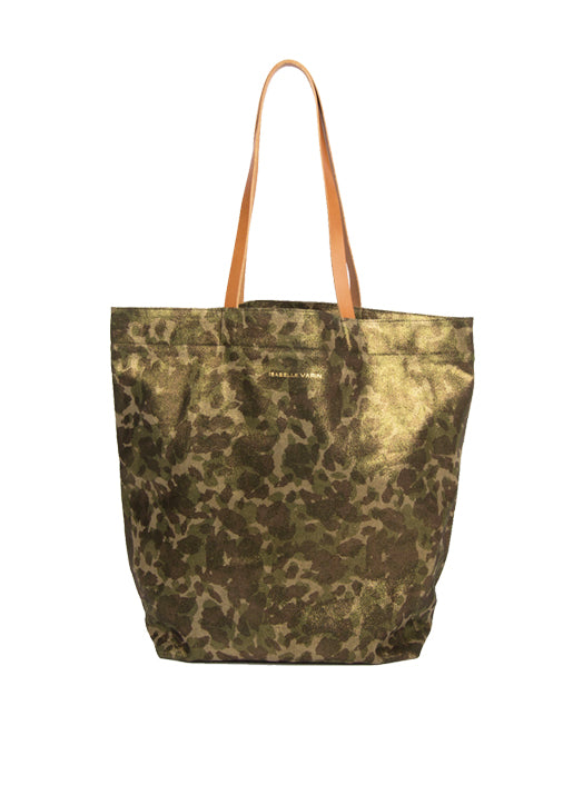 Cabas Camouflage Tote