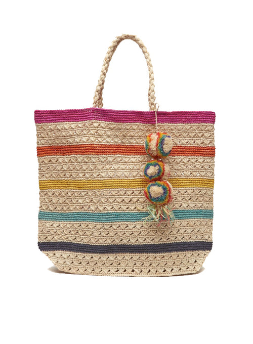 Catalina Tote - Multi colored