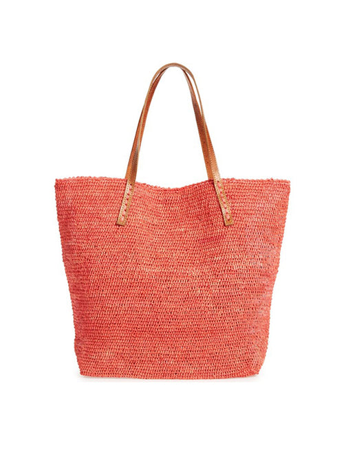 Portland Carryall Tote - Coral