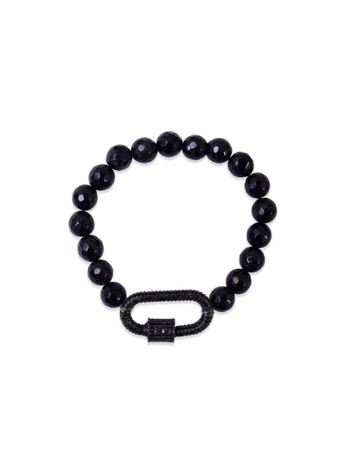 Crystal Empire Bracelet Black Onyx