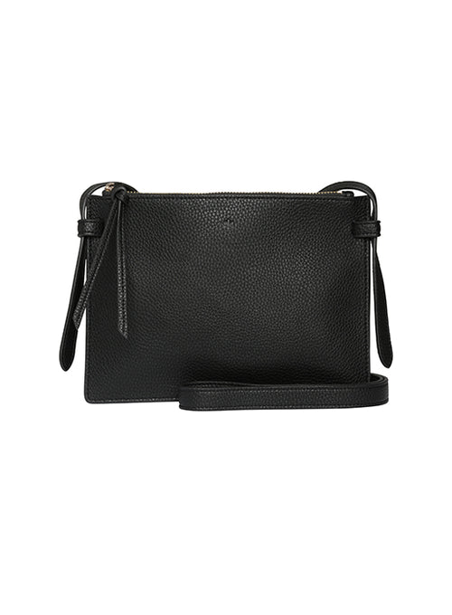 Double Cross Body Black