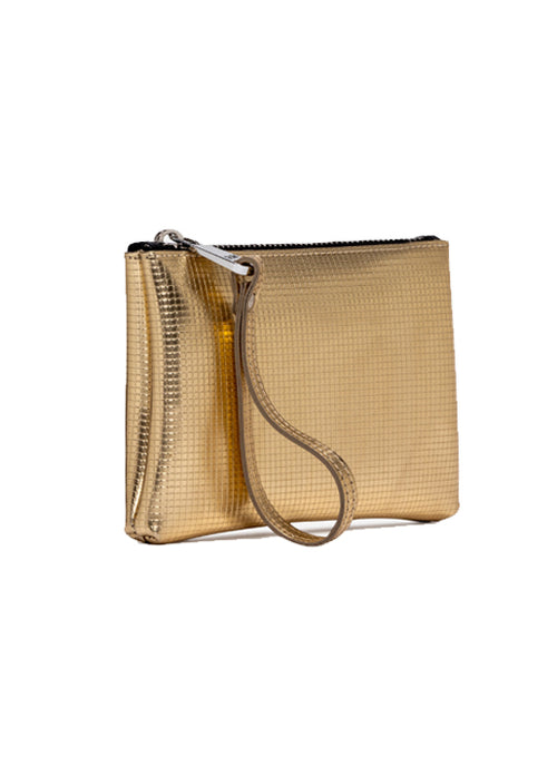 Large Numbers Clutch Bag - Gold