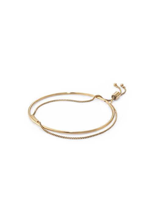 Thin Sadie Bangle Gold