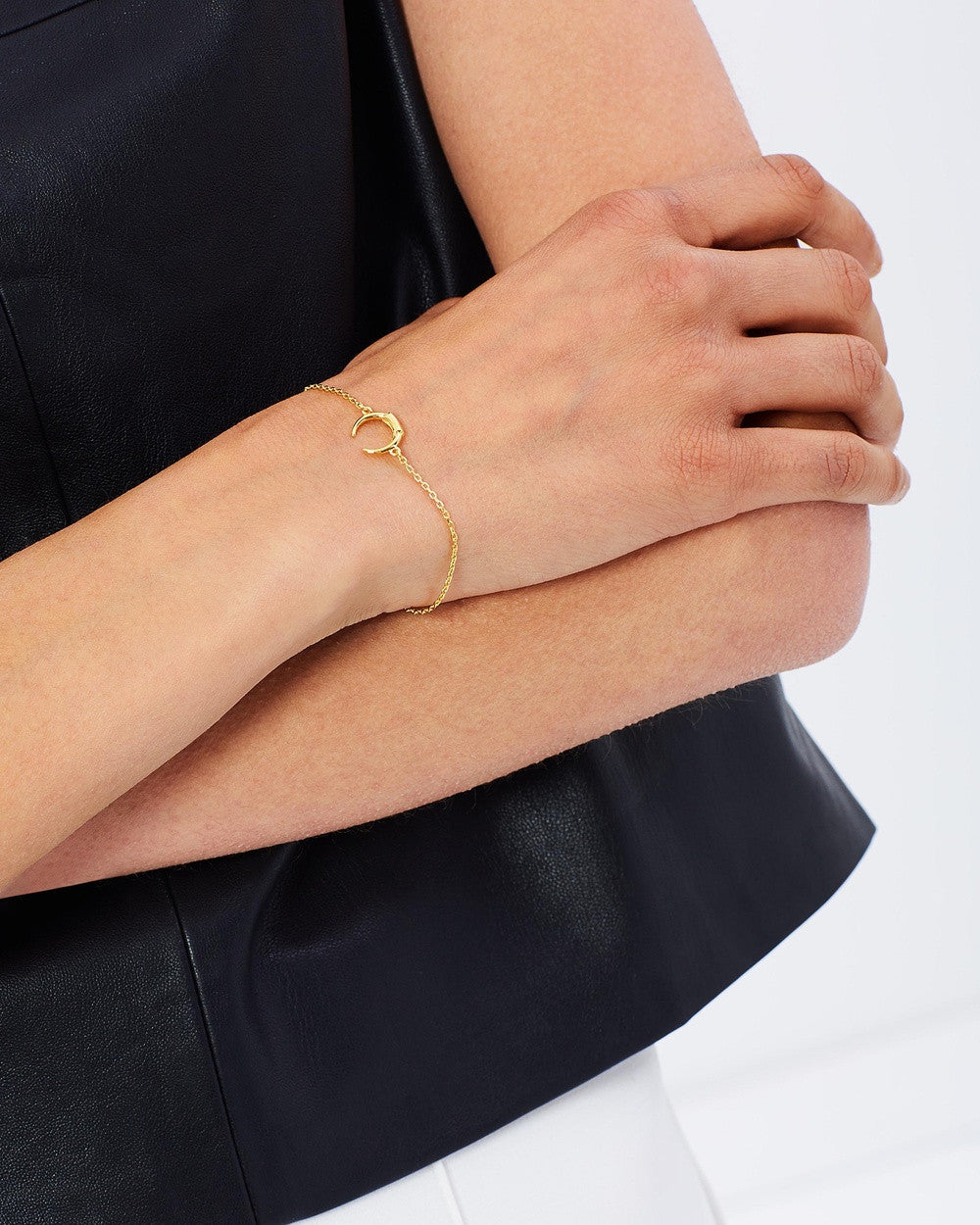 Tusk Mini Bracelet - Gold