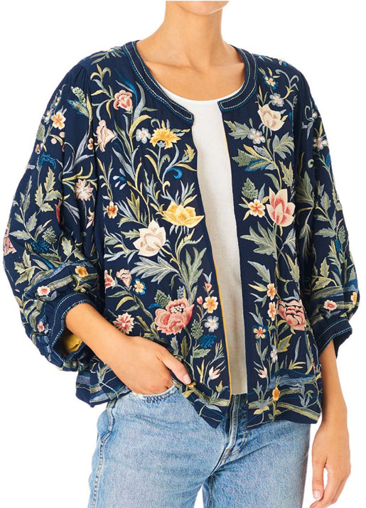 Velma Embroidered Jacket
