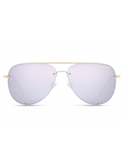 High Key Mini Rimless - Gold/Lilac
