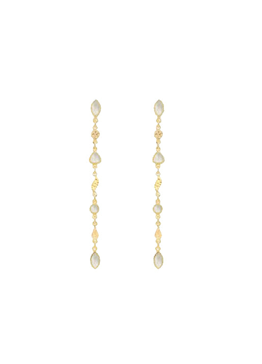 Macha Earrings - Mother of Pearl