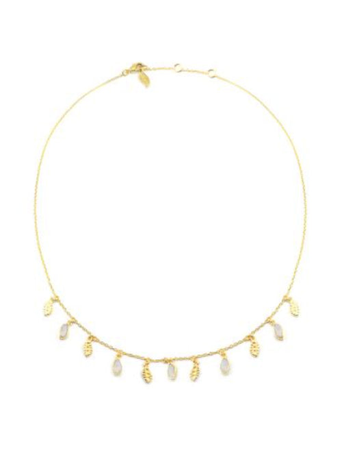 Mali Necklace - Moonstone