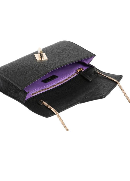MILCK Clutch - Black Pebble