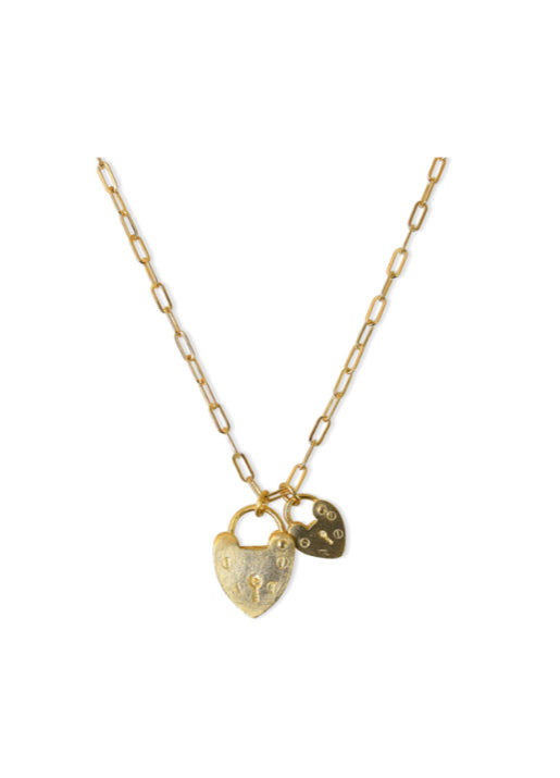 Montague Lock Necklace