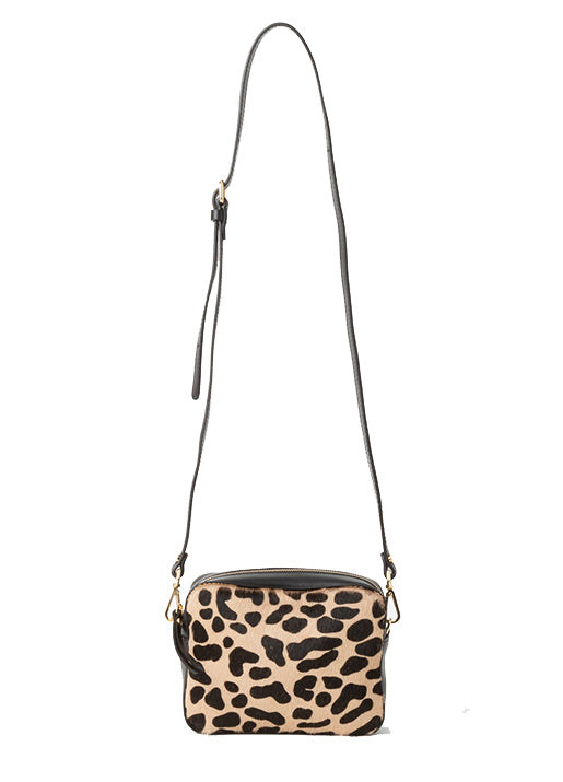 Mini Olivia Leopard Shoulder/Belt Bag