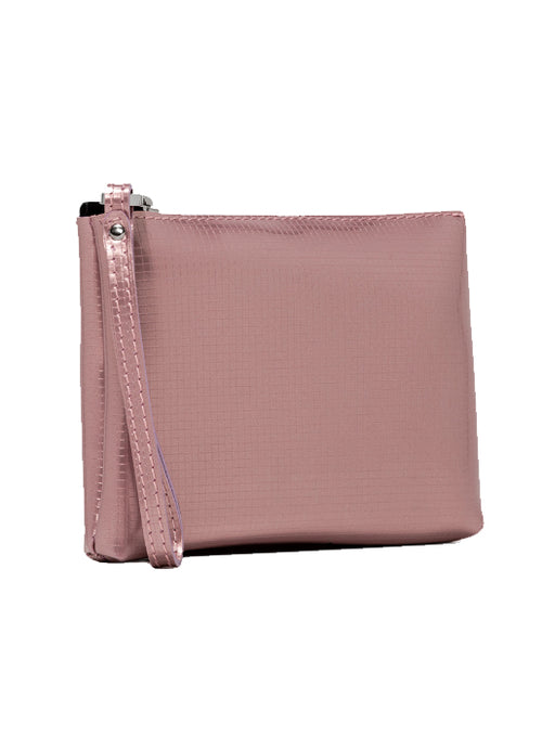 Large Numbers Clutch Bag - Pink