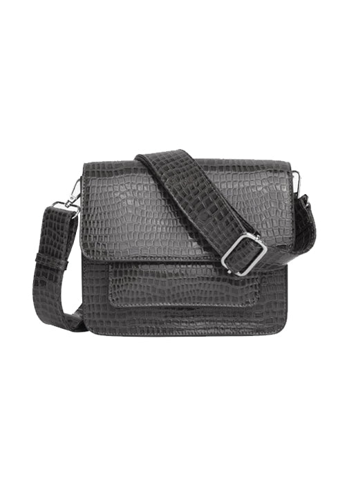 Cayman Pocket Crossbody Bag - Dark Grey
