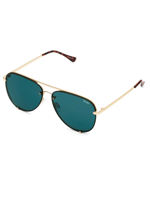 High Key Mini Rimless - Gold/Teal