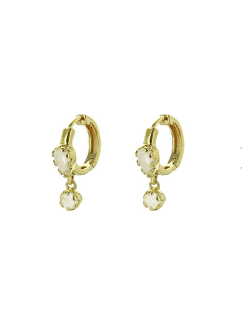 Safra Earring Moonstone