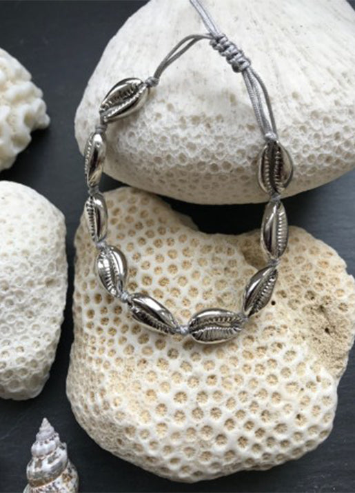 Saint Barth Shell Bracelet - Silver