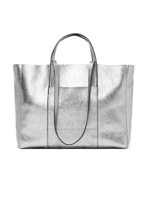 Superlight Large Tote - Silver