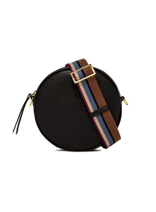 Tamburello Round Cross Body Bag