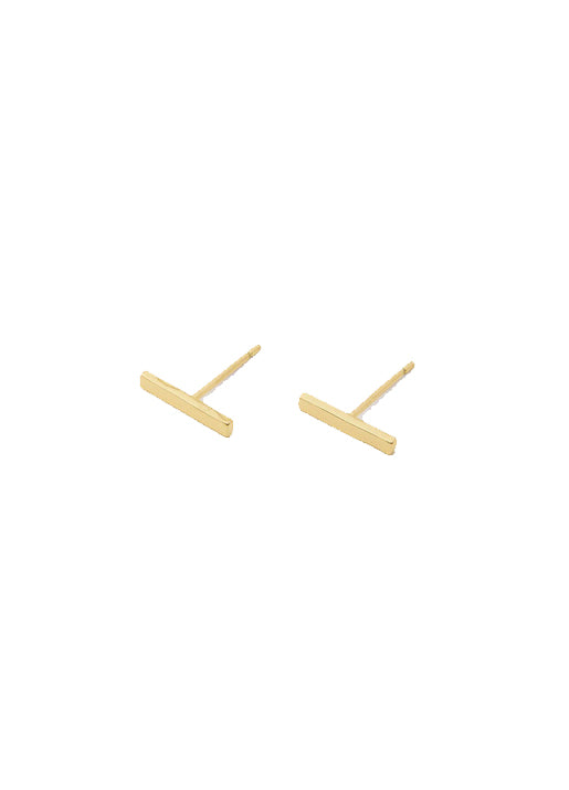 Taner Bar Mini Stud Earrings