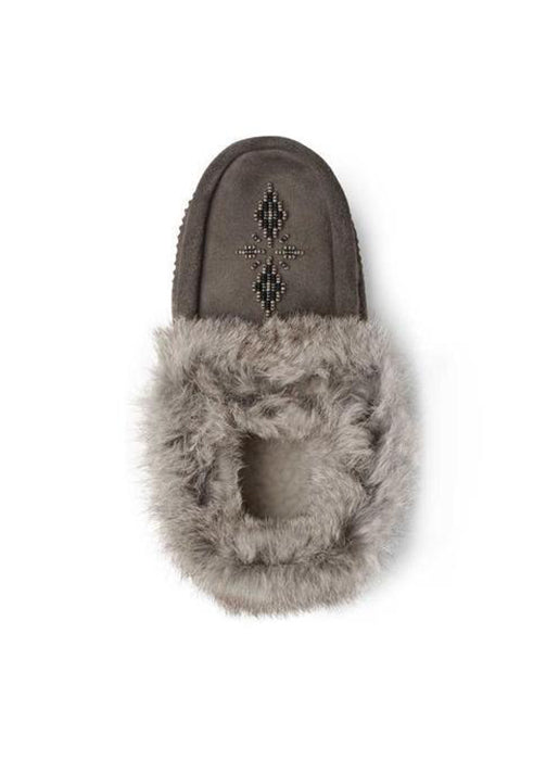 Tipi Moccasin Charcoal Grey