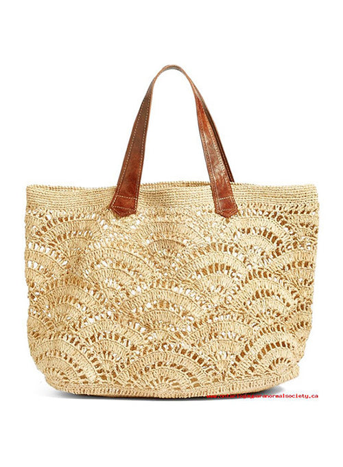 Tulum Crocheted Tote Bag