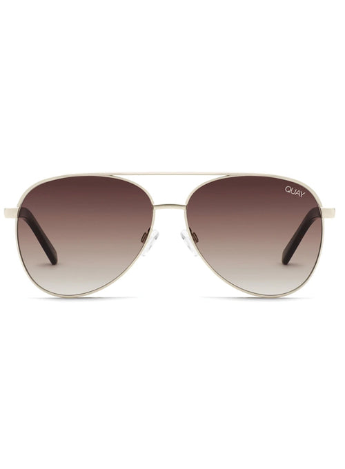 x Chrissy Vivienne Mini Aviator - Gold/Brown