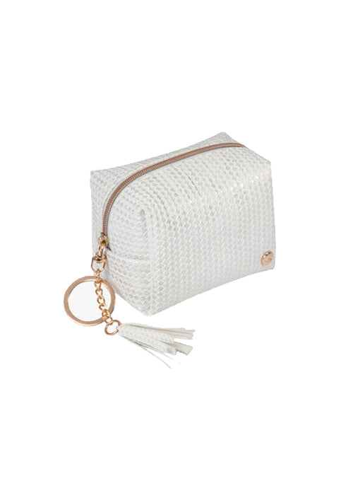 Zoe Key Chain White