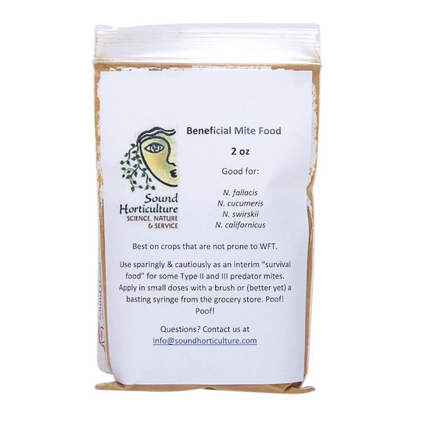 Beneficial mite food 2oz