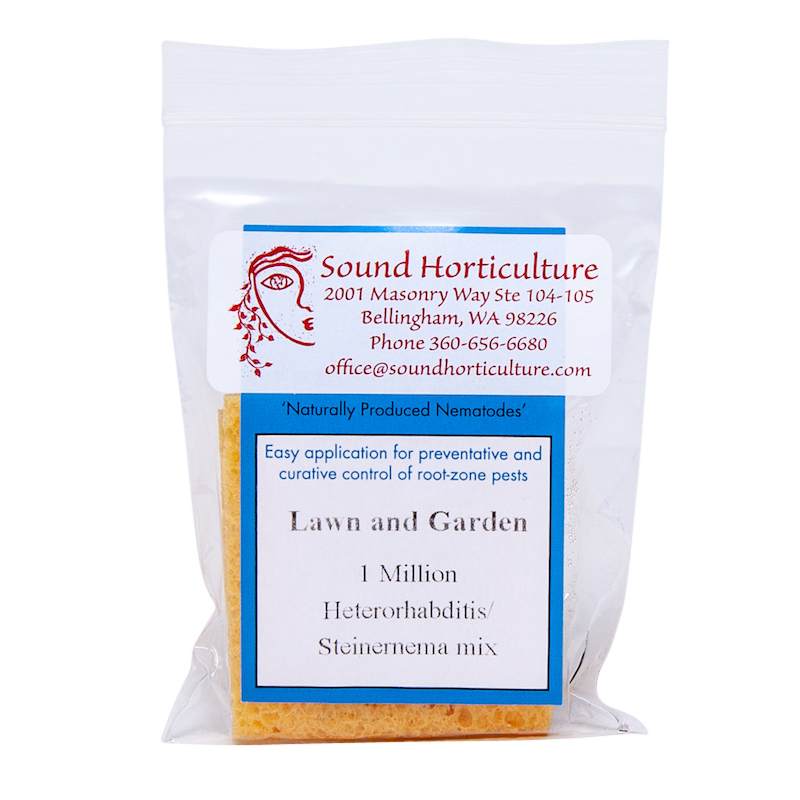 Lawn and Garden Blend nematodes