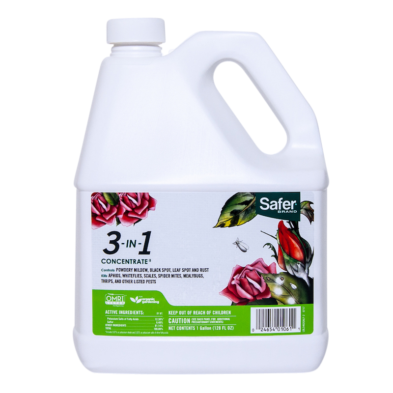 Safer Brand 3 in 1 Concentrate, 1 Gallon (25% off!)