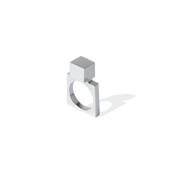 Avenue Large Cube Ring