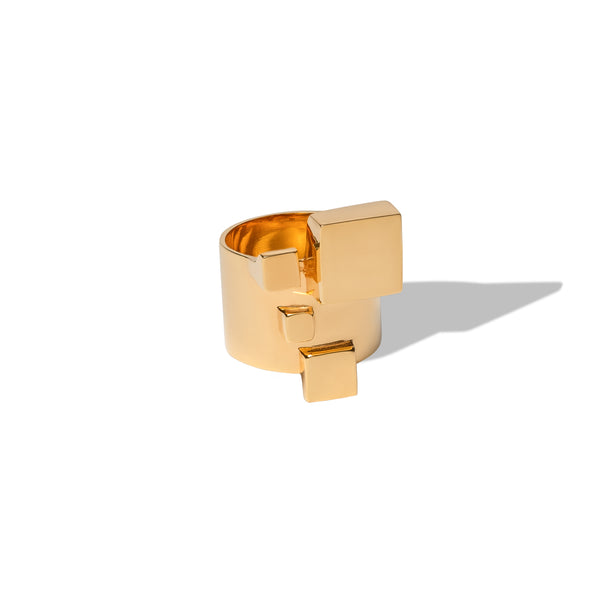 Avenue Four Cubes Ring