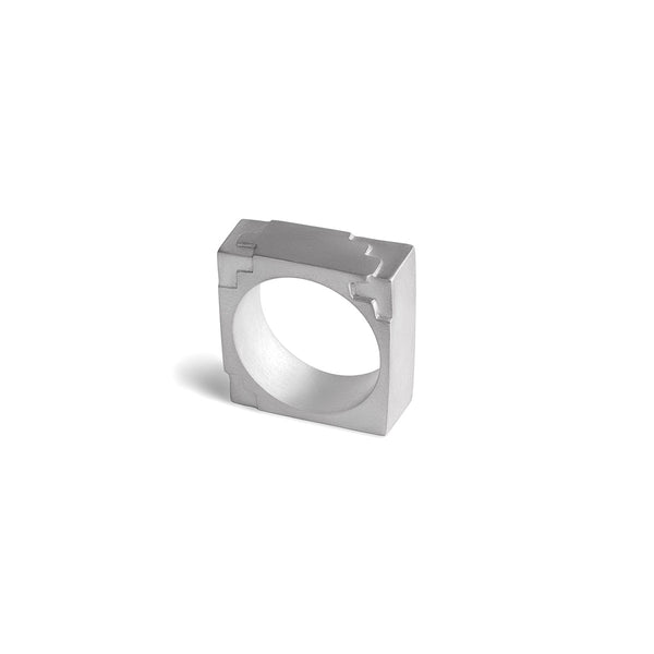 Squared Puzzle Ring