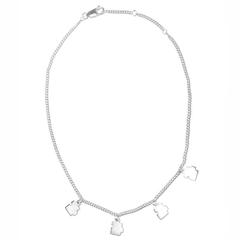 Mini Puzzle Chain Choker