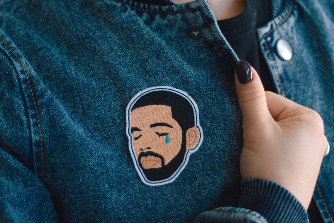 Crying Drake Patch