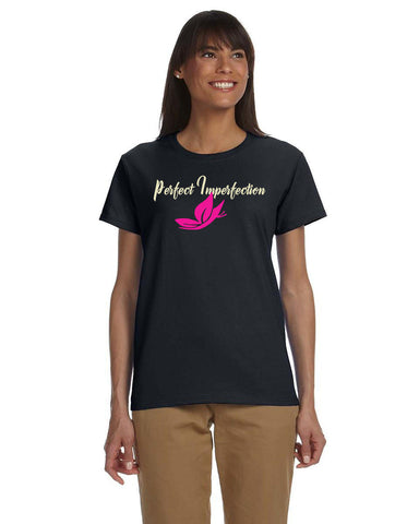 Perfect Imperfection T-shirt - Be Transformed Tees N Things
