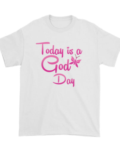 Today Is A God Day (Pink) - Be Transformed Tees N Things