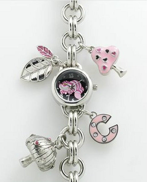 Alice In Wonderland CHESHIRE CAT Charm Bracelet Watch AL2005 - La Century