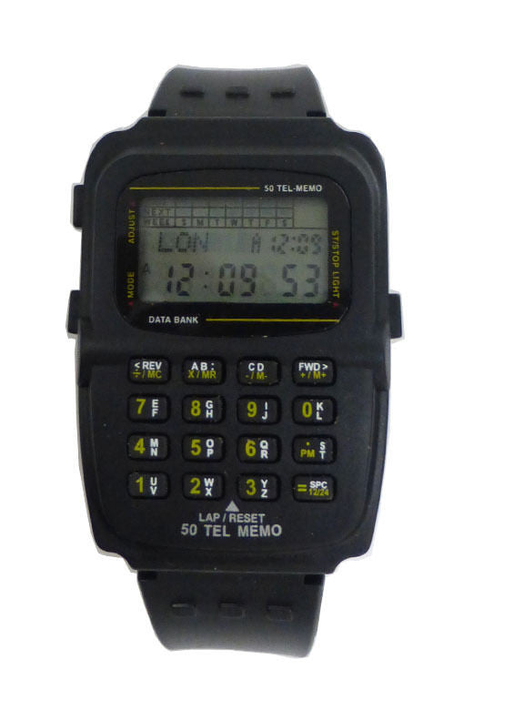 50 Memory Watch Data Bank Calculator - 3A - La Century