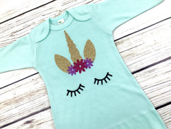 unicorn baby onesie outfit newborn baby unicorn outfit