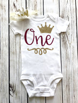 {Princess One Year Old Outfit} RTS
