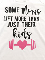 Moms who lift crossfit weight lifting tank