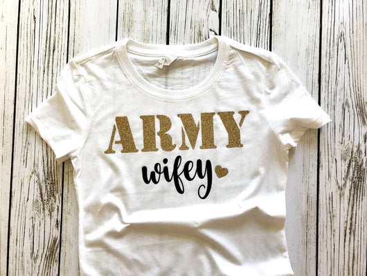 Army wife army wifey shirt wife of army outfit
