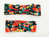Mommy & Me Matching Floral Headband Set