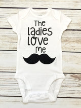 The Ladies Love Me Baby Boy Bodysuit